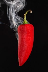 Burning chilli